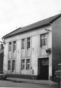 I. budova OSBD Martin na bývalej ul. Engelsovej